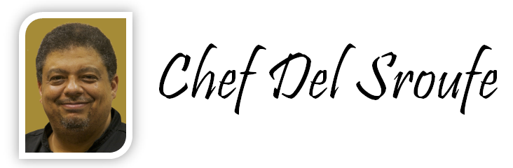 Chef Del Sroufe logo